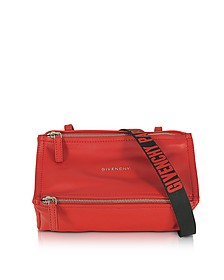 Pandora Mini Red Leather Crossbody Bag - Givenchy