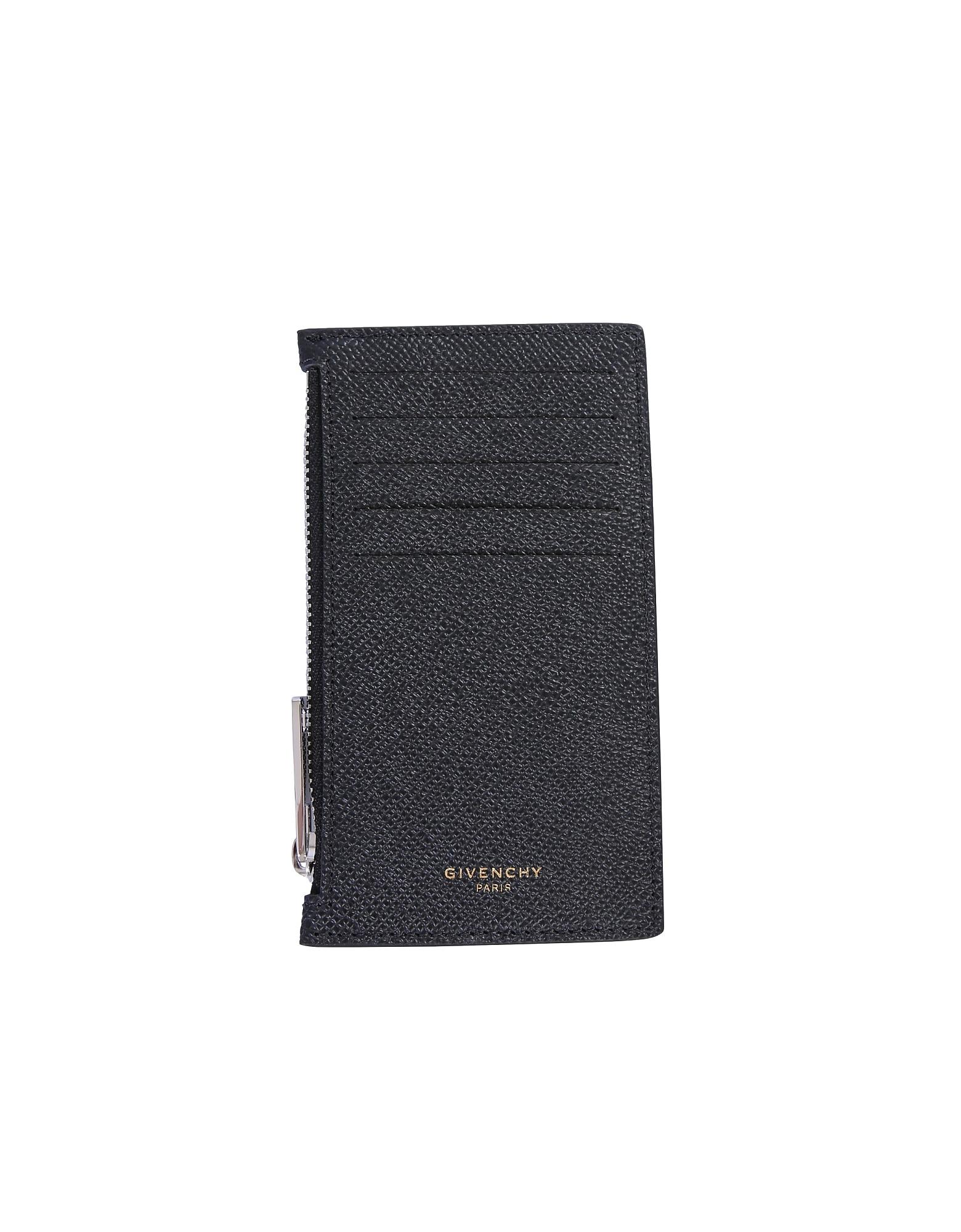 Givenchy Designer Men's Bags, Card Holder With Logo