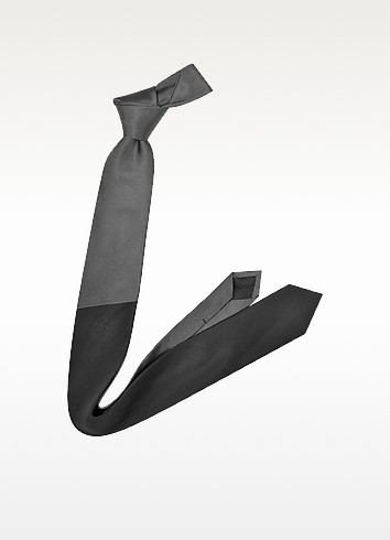 Narrow Colorblock Silk Tie - Givenchy