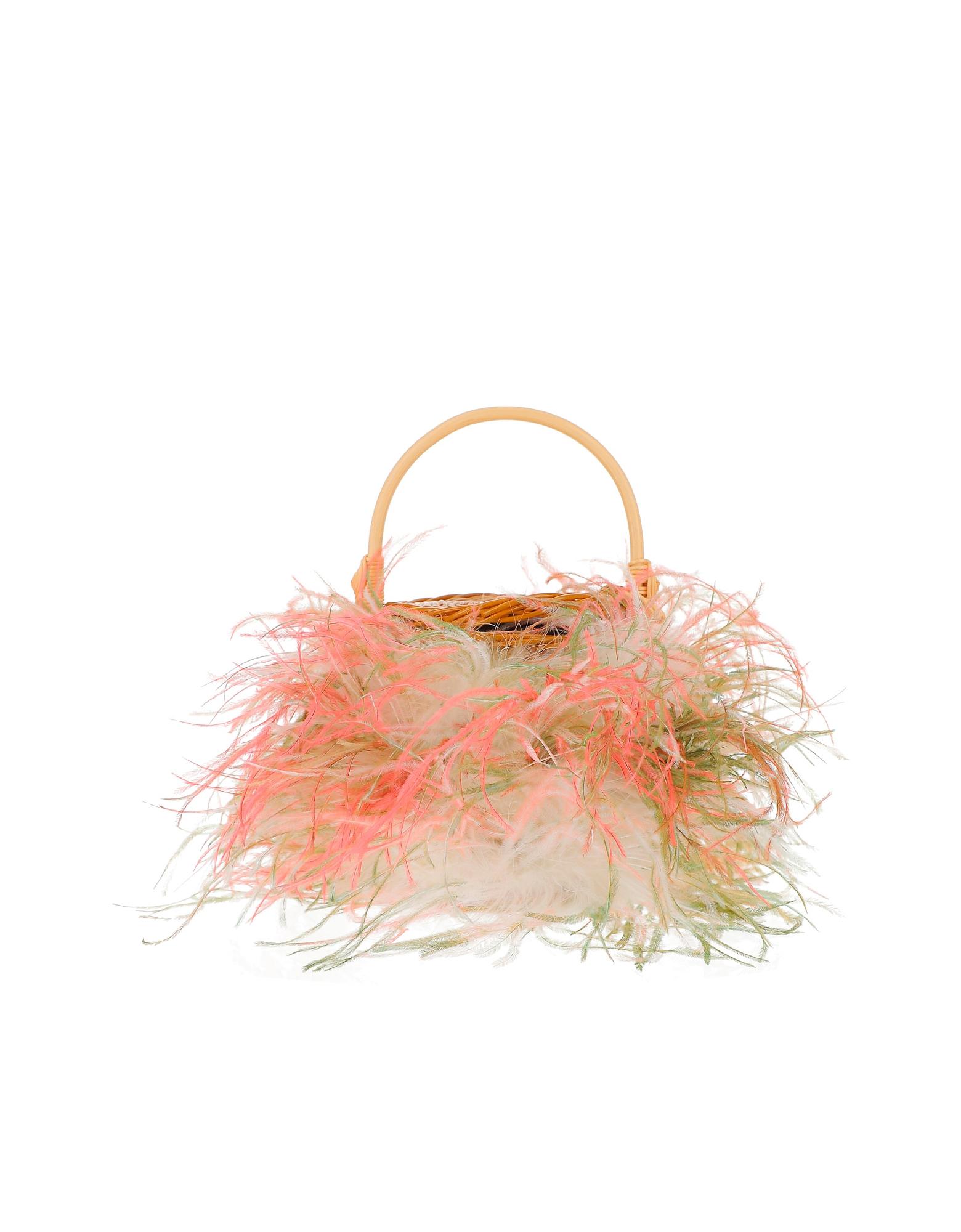 Gatti Designer Handbags, Pink and White Tweety Bag