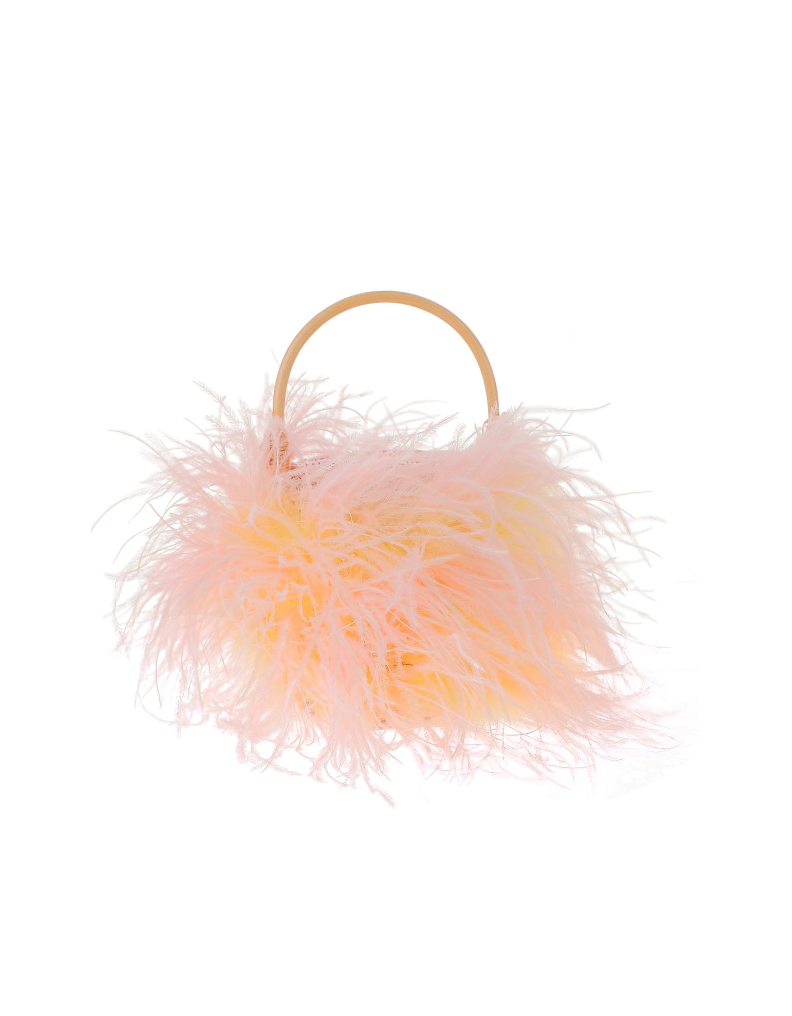 Gatti Designer Handbags, Pink and Yellow Mini Tweety Bag