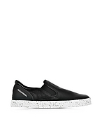 Hogan Hogan Rebel Sneaker Slip-on R141 in Pelle Martellata e Tessuto Scuba - hogan - it.forzieri.com