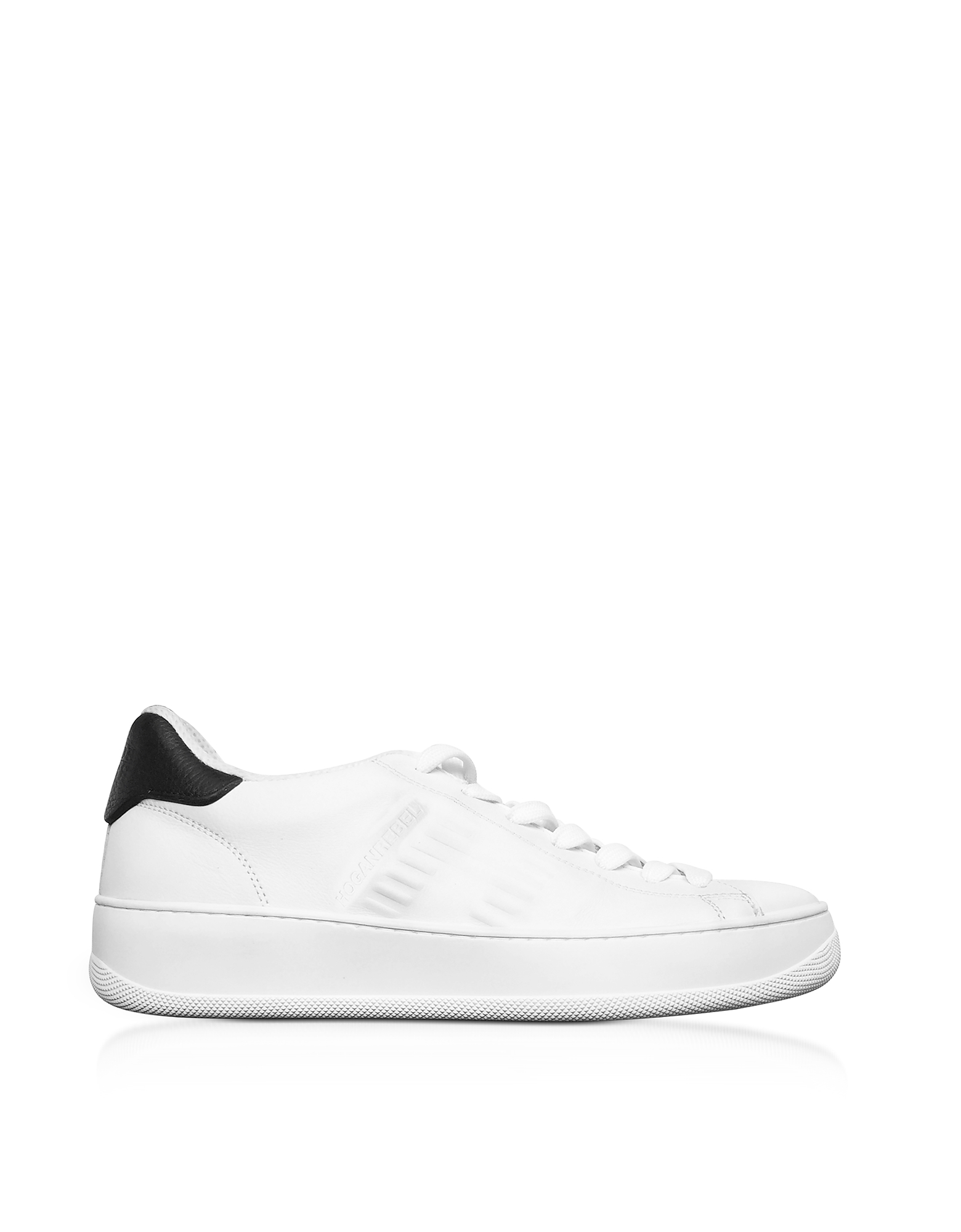 Hogan Pure - Белые Кожаные Теннисные Мужские Кроссовки