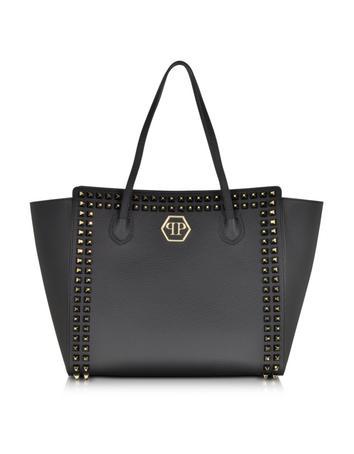 Studdy Leather Handbag