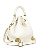 Baby Dinamite Skull Leather Bucket Bag - Philipp Plein