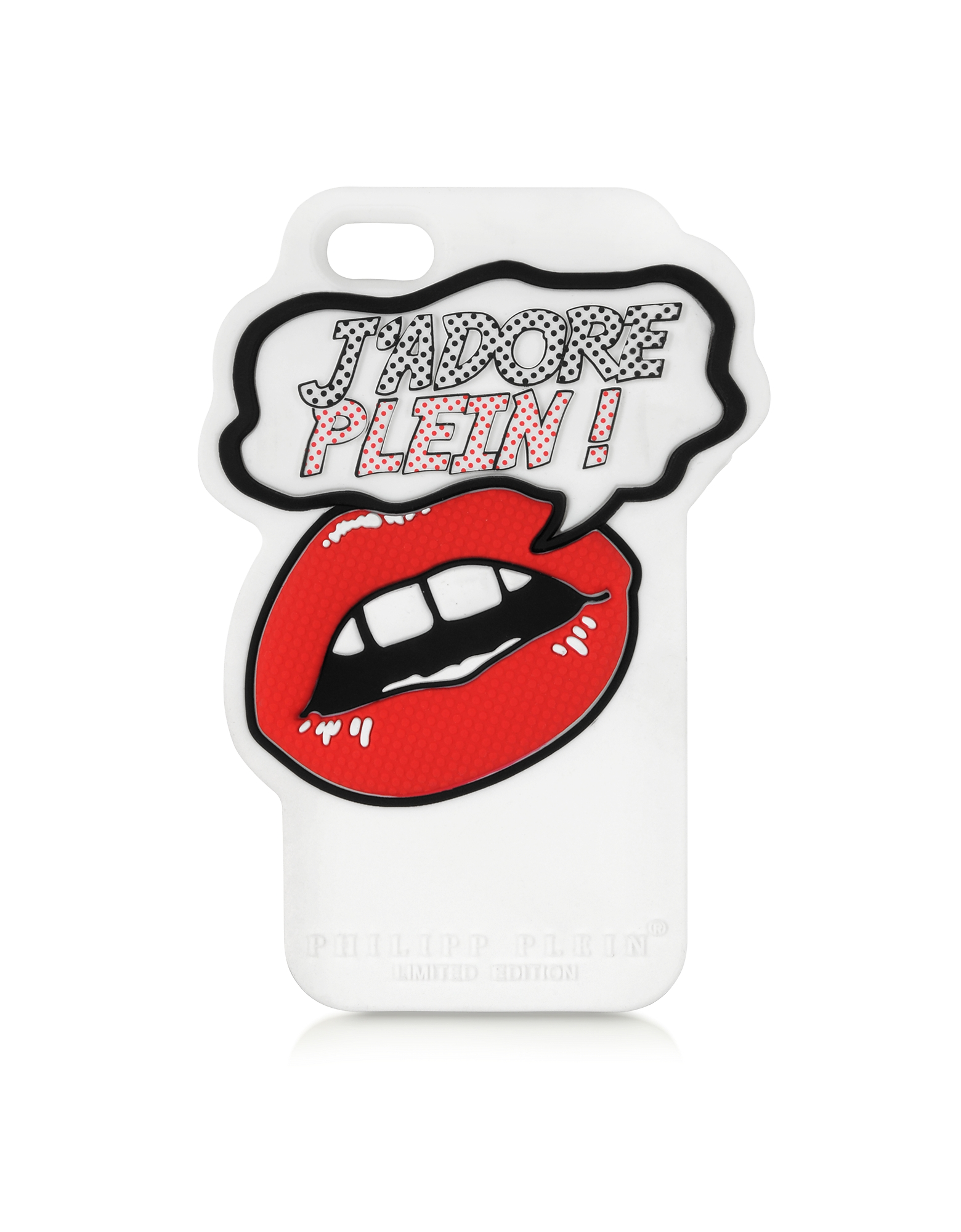 Philipp Plein Designer Handbags,  J'adore Plein Rubber iPhone 5 Cover