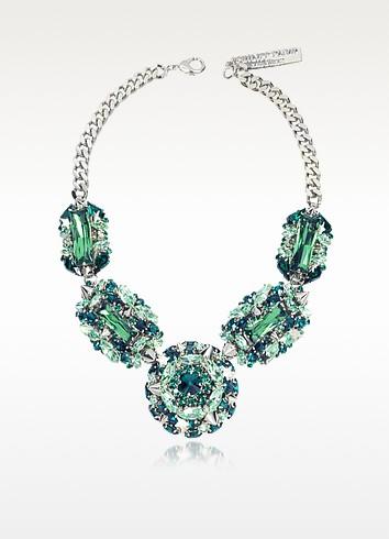 The Casino Princess Green Women's Necklace - Philipp Plein