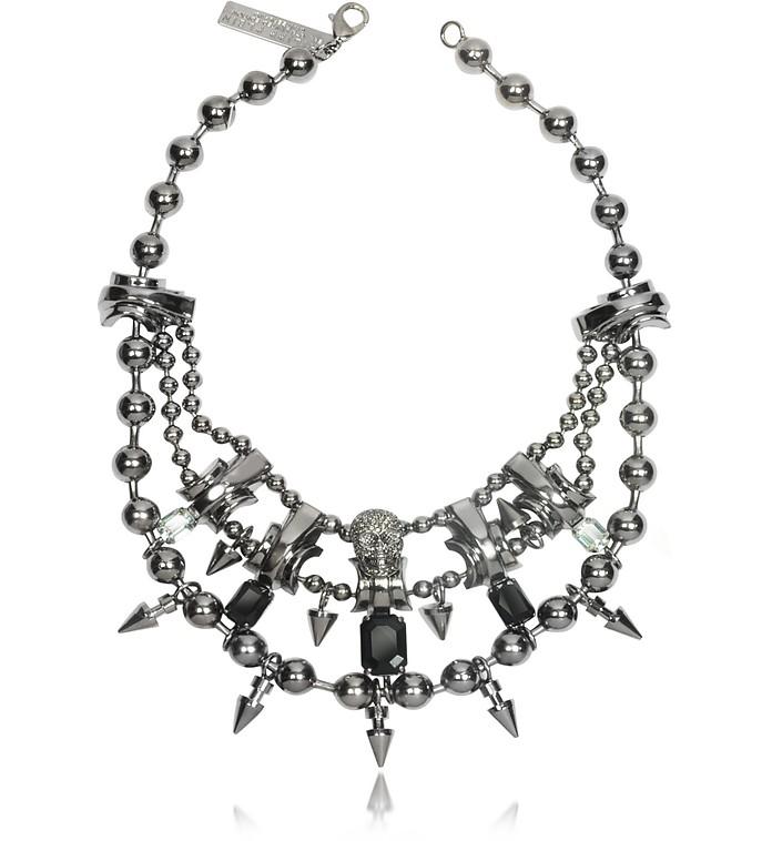 Conspicuous Metal Necklace - Philipp Plein