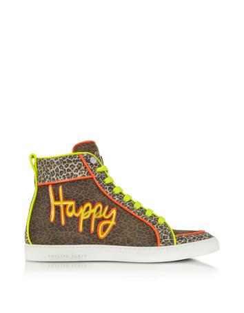 Happy Leo Sneakers