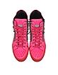 Clever Neon Pink High Top Sneaker - Philipp Plein