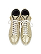 Golden High Top Quilted Leather Star Sneaker - Philipp Plein