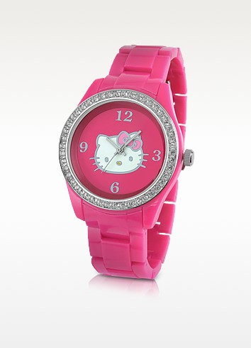 Sporty Kitty Bracelet Watch - Hello Kitty