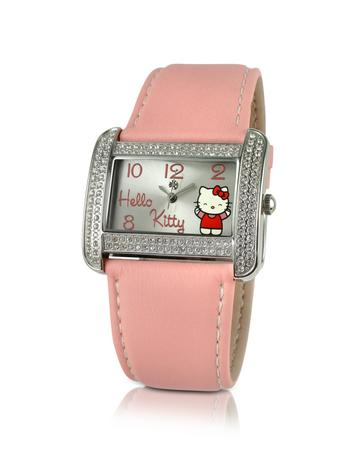 Forever Kitty - Rectangular Dial Watch