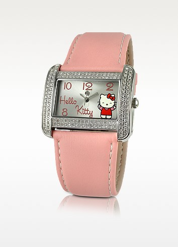 Forever Kitty - Rectangular Dial Watch - Hello Kitty