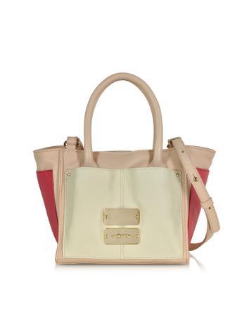 Nellie Multicolor Small Zip Tote Bag