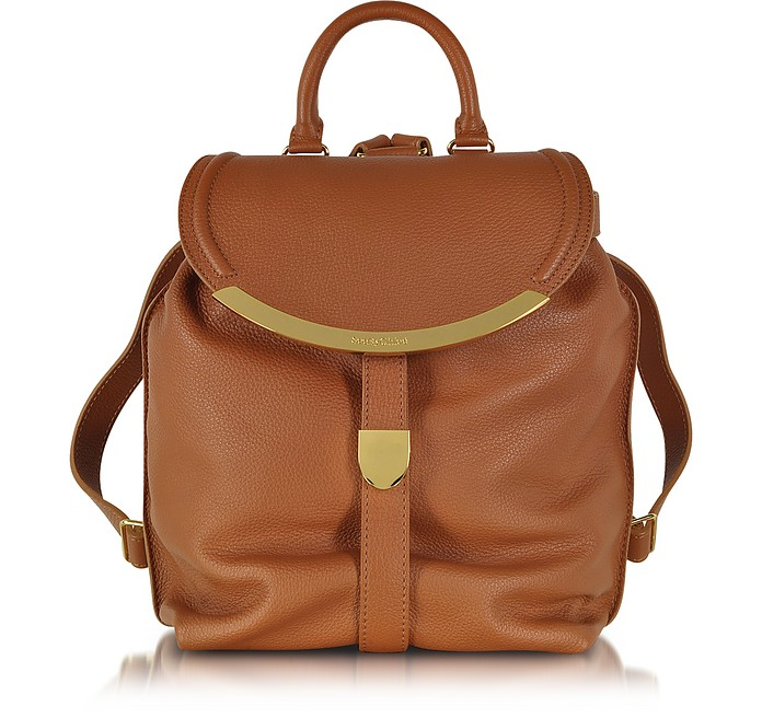 Tan Lizzie Convertible Backpack - See by Chloé