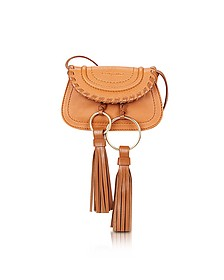 Polly Hazel Leather Mini Crossbody Bag w/Tassels - See by Chloé
