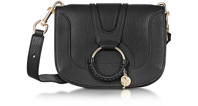 Hana Black Leather Crossbody Bag - See by Chloé