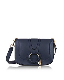 Hana Ultramarine Leather Crossbody Bag  - See by Chloé