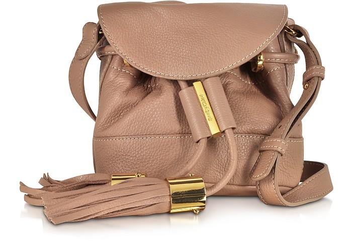 Vicki Nougat Leather Mini Bucket Bag - See by Chloé