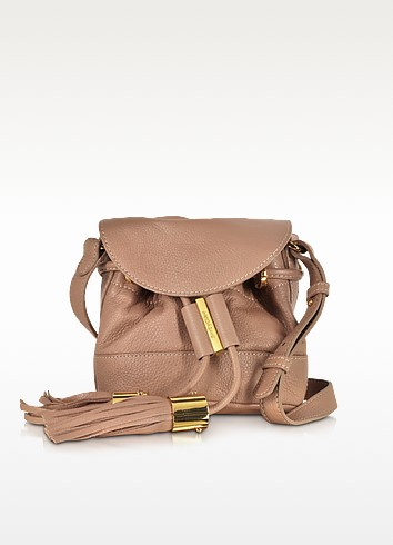 Vicki Nougat Leather Mini Bucket Bag - See by Chloé