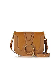 Hana Passito Leather and Suede Crossbody Bag - See by Chloé