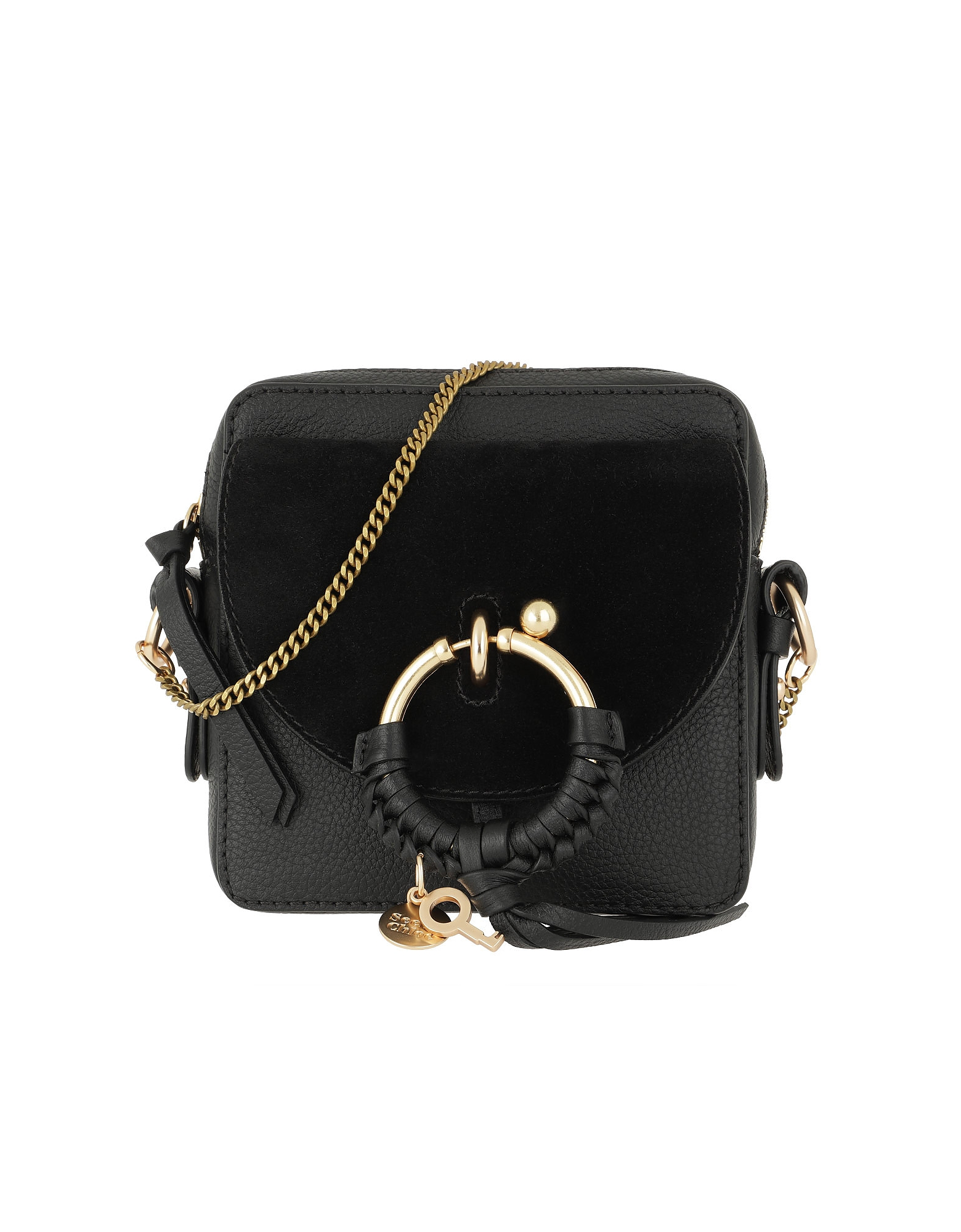 See by Chloé Handbags, Joan Camera Bag Leather Black