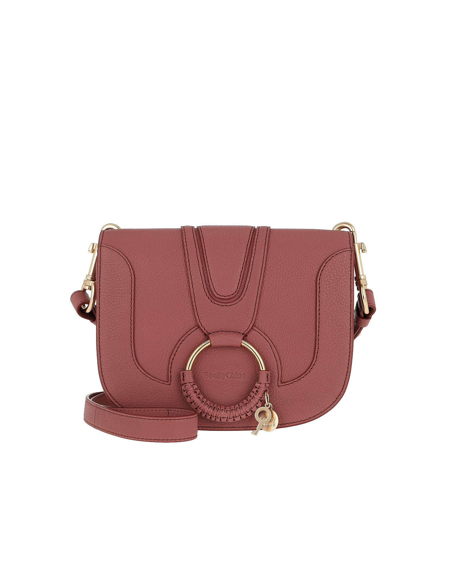 Hana Medium Shoulder Bag Rusty Pink