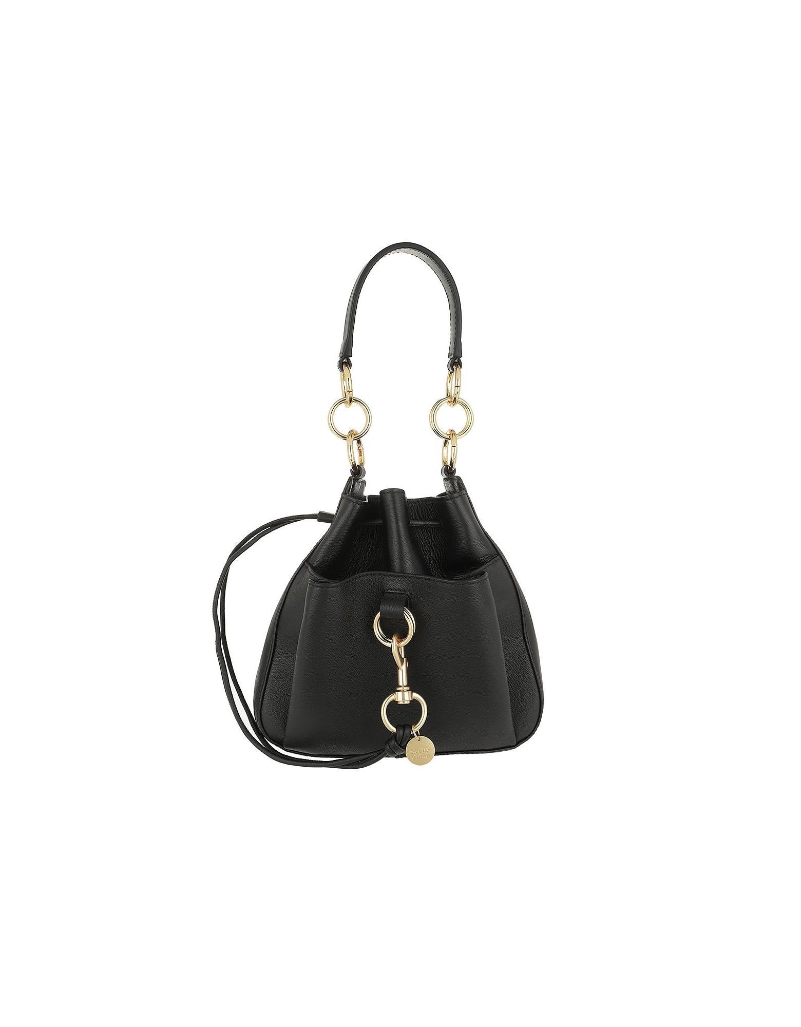 Tony Medium Shoulder Bag Black
