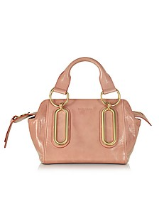 Paige Small Glazed Leather Handbag - See by Chloé