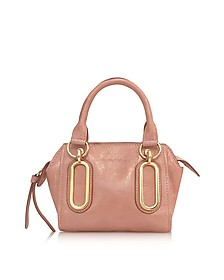 Paige Glazed Leather Mini Crossbody Bag - See by Chloé