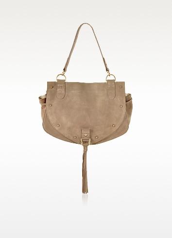 Collins Suede Shoulder Bag - See by Chloé