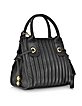 Sheen Black Leather Small Handbag - See by Chloé