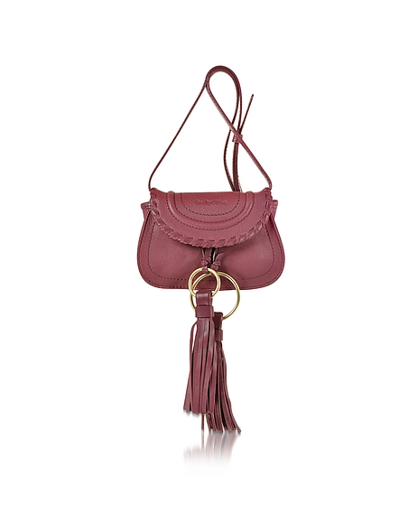 Foto See by Chloé Polly Mini Borsa in Pelle con Tracolla e Nappine Borse donna