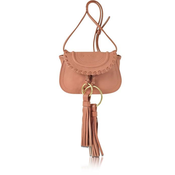 Polly Leather Mini Crossbody Bag w/Tassels - See by Chloé