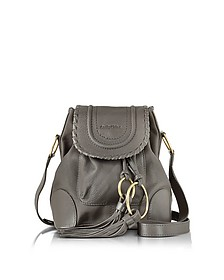 Polly Leather Shoulder Bag w/Tassels - See by Chloé