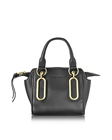 Paige Black Leather Mini Crossbody Bag - See by Chloé