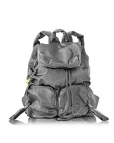 Joy Rider Black Nylon Backpack  - See by Chloé