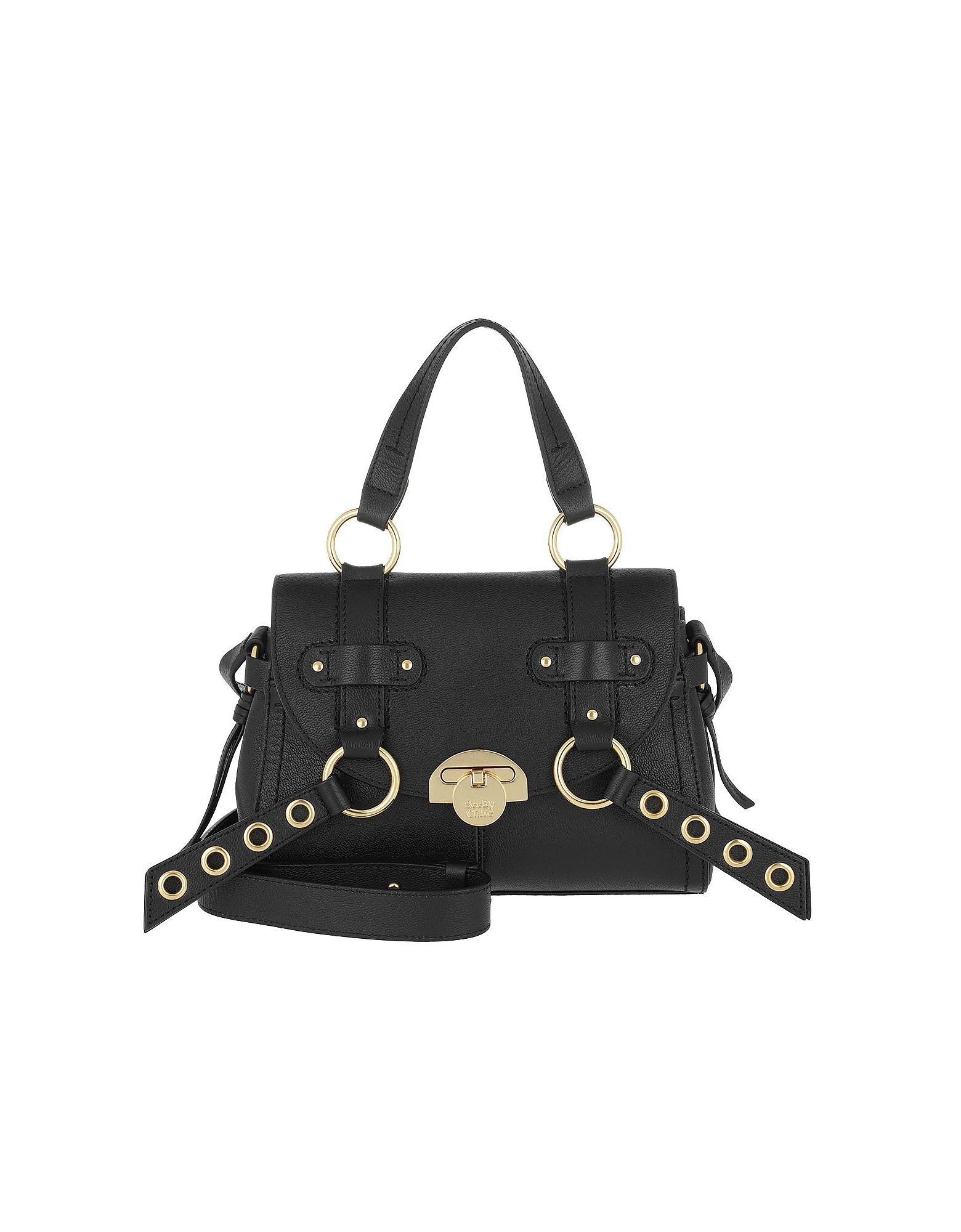 See by Chloé Handbags, Allen Shoulder Bag Leather Black