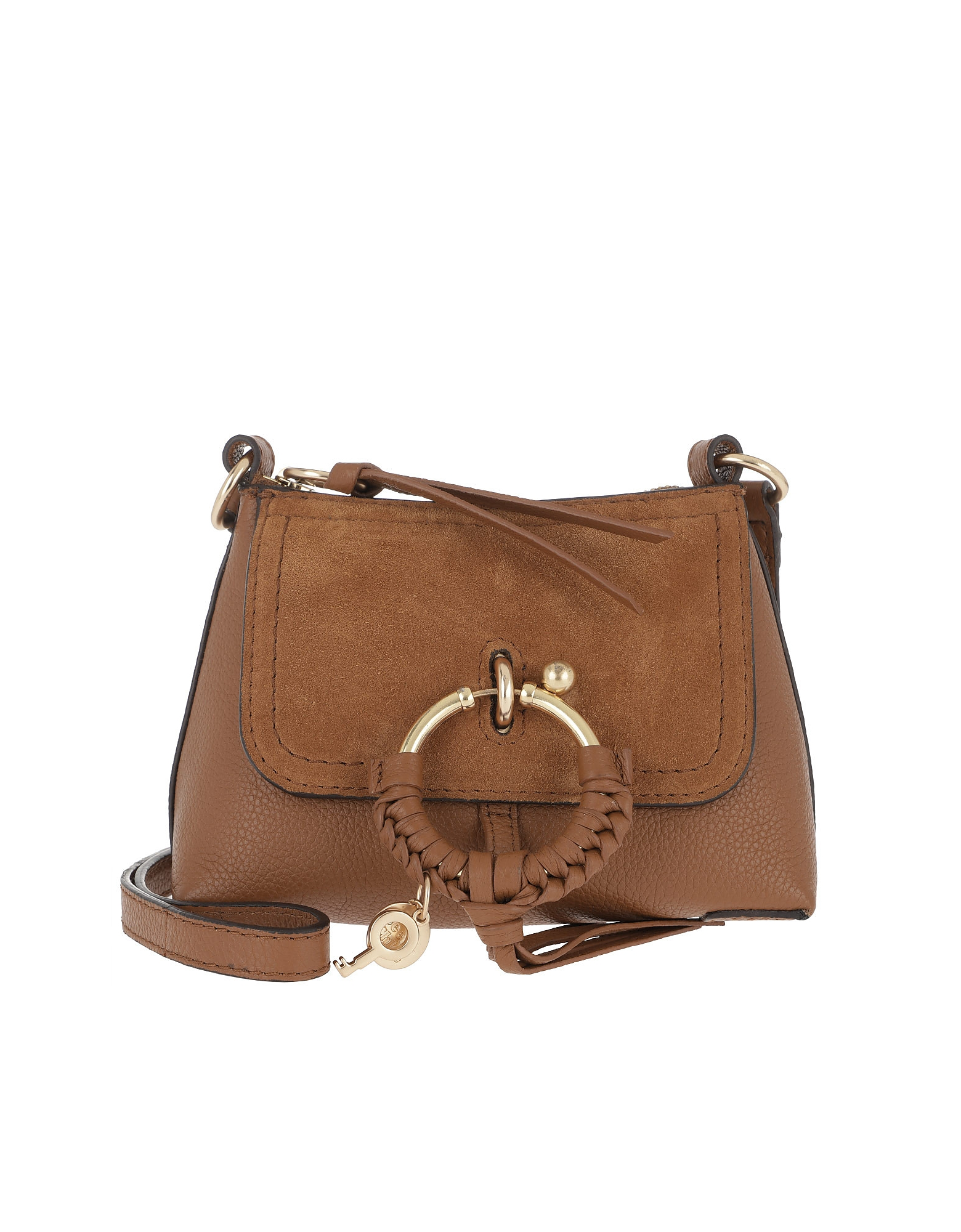 See By ChloÉ Joan Mini Crossbody Bag Caramel In Brown  49d6349501ab6