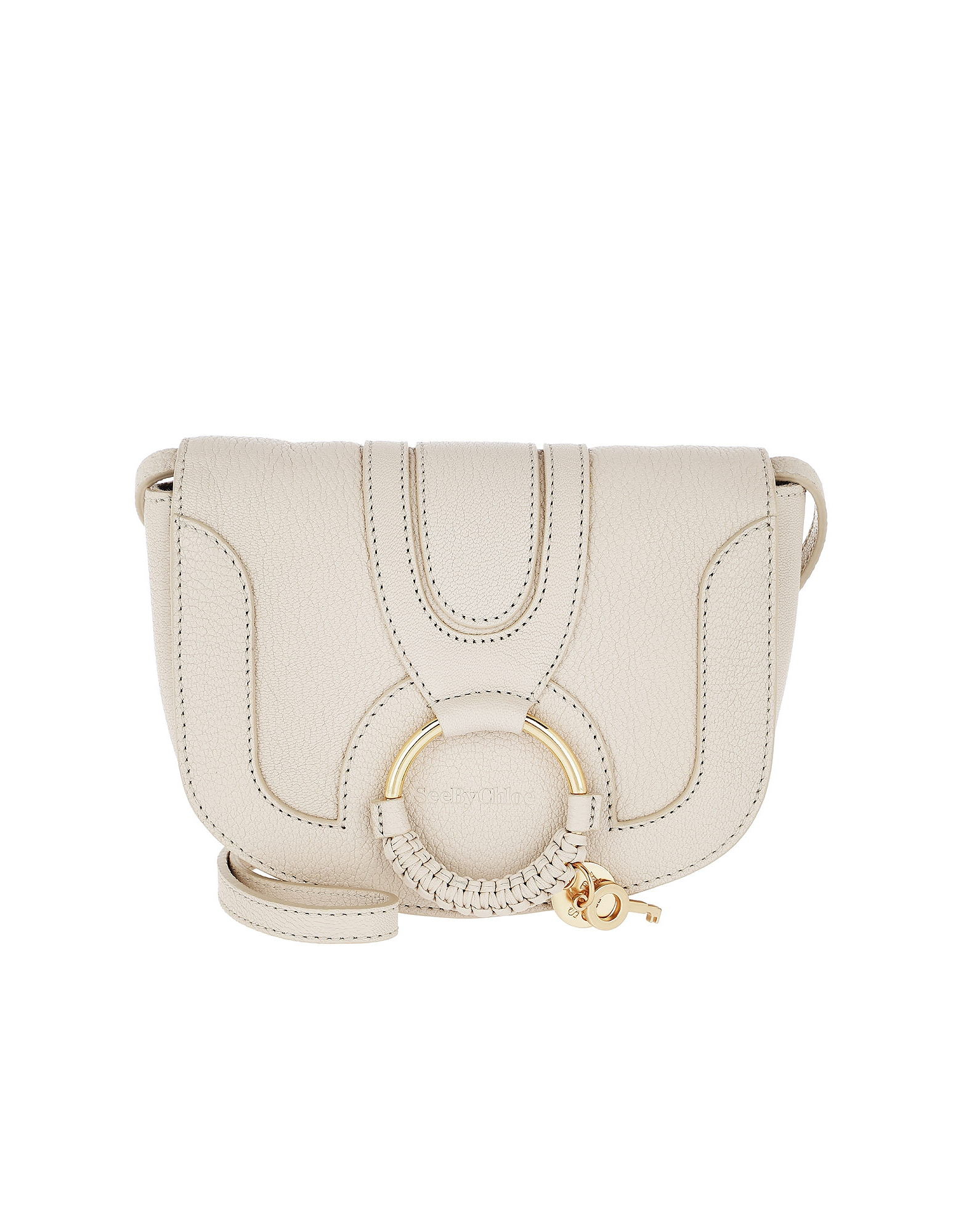 See by Chloé Handbags, Hana Mini Crossbody Bag Cement Beige