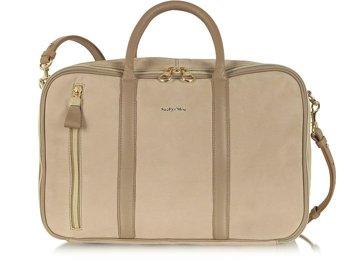 24 Hours Grained Leather Tote - See by Chloé