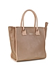 April Pink Champagne Metallic Leather Tote - See by Chloé