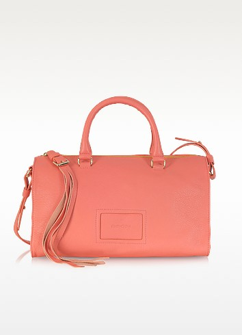 Alix Medium Cow Leather Satchel w/Shoulder Strap - See by Chloé