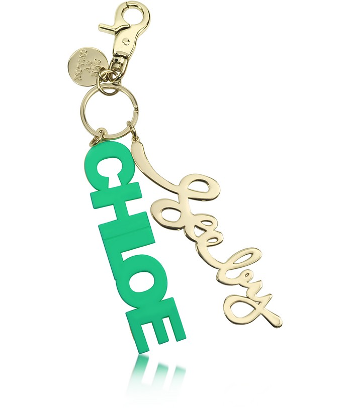 Signature Charm Keyring - See by Chloé