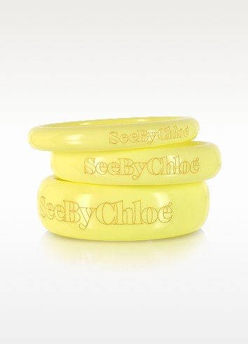 Signature Bangle Bracelets - See by Chloé