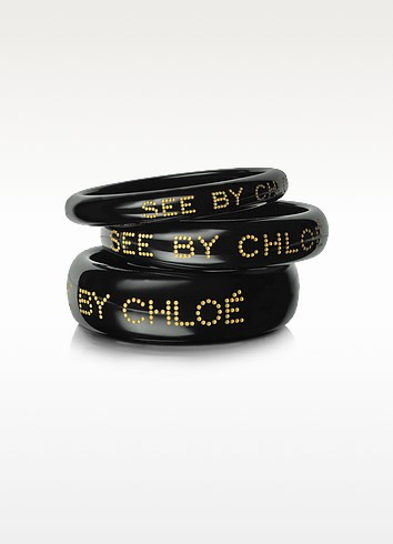 Logo Bangle Bracelets - See by Chloé