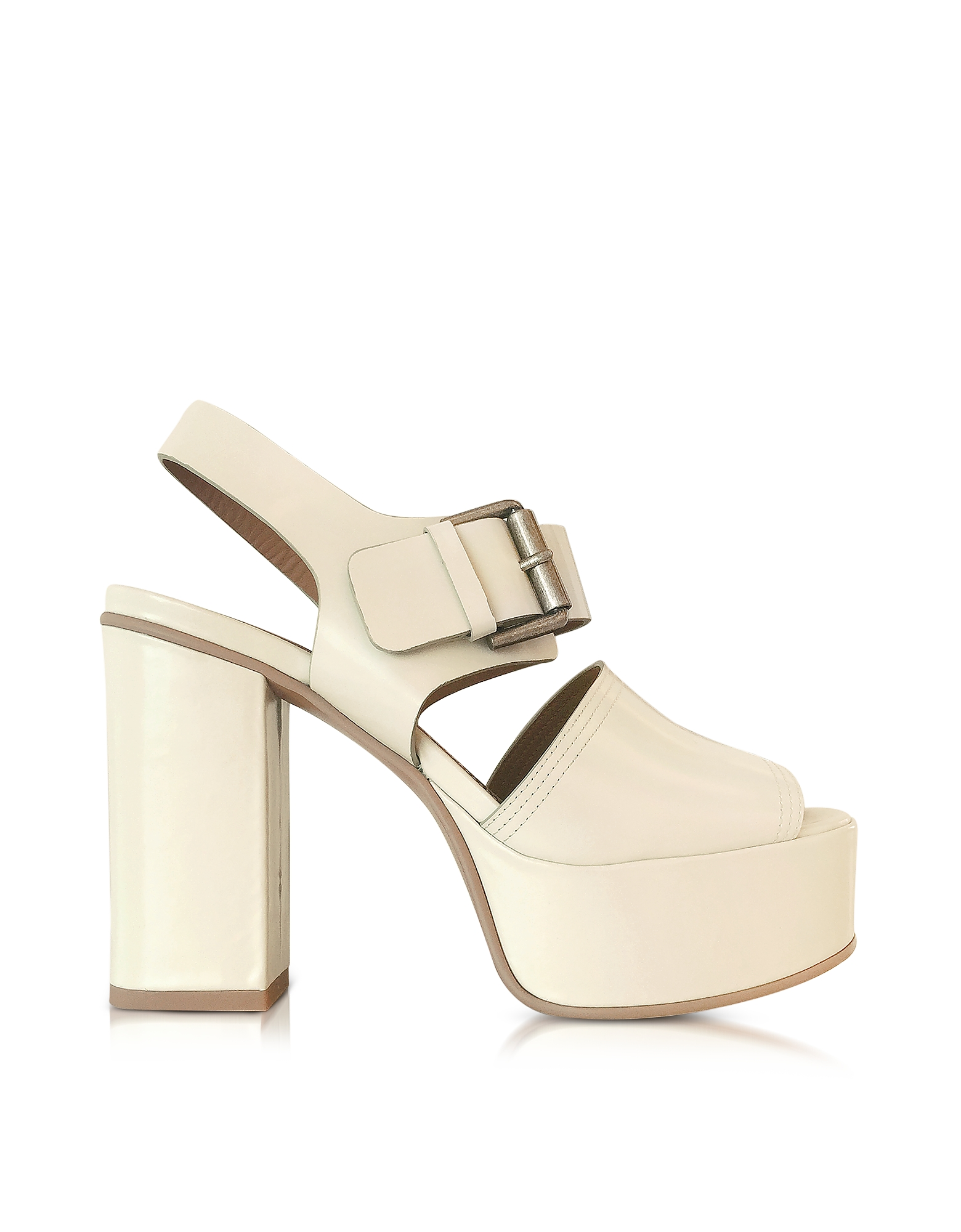 See by Chloé Shoes, Opale Leather Platform Sandal