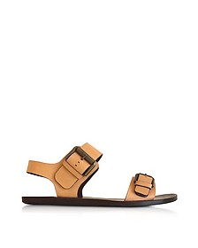 Albicocca Leather Sandal - See by Chloé