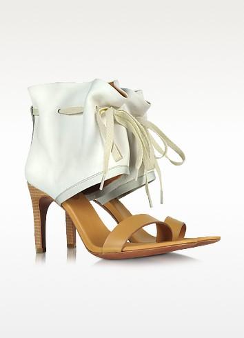 Two Tone Nabuk Sandal - See by Chloé